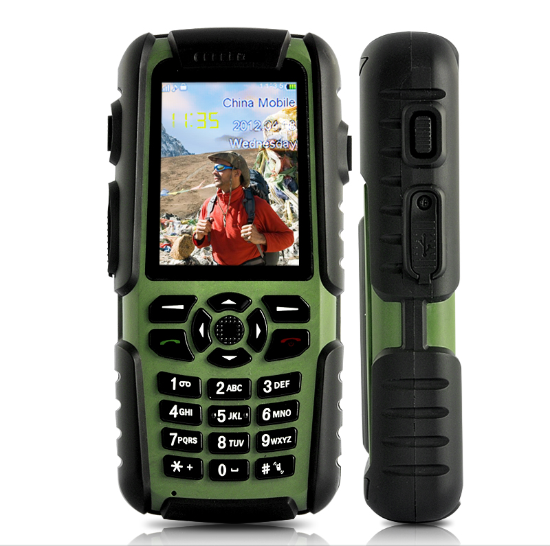 chinese rugged mobile phone vigis gps compass walkie