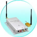 Wireless Signal Booster and Receiver Kit (300 meter monster)