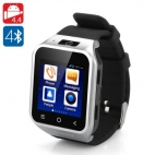 ZGPAX S8 Android 4.4 Watch Phone - Dual Core CPU, 3G, 8GB Internal Memory, 5 Megapixel Camera, 1.54 Inch Display (Silver)