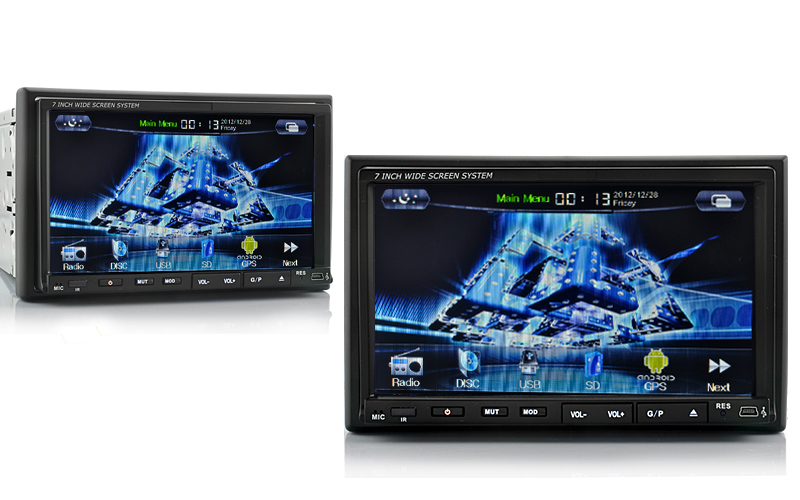 Chinese Android 4 0 Car DVD Player