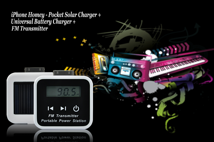 Chinese iPhone Homey - Pocket Solar Charger + Universal