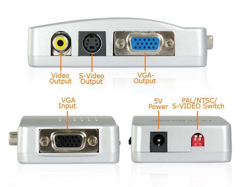 China Manufacturer Specifications  sc 1 st  Elite-Electronix & Chinese VGA to RCA + S-Video Converter Box - PC to TV Connection Aboutintivar.Com
